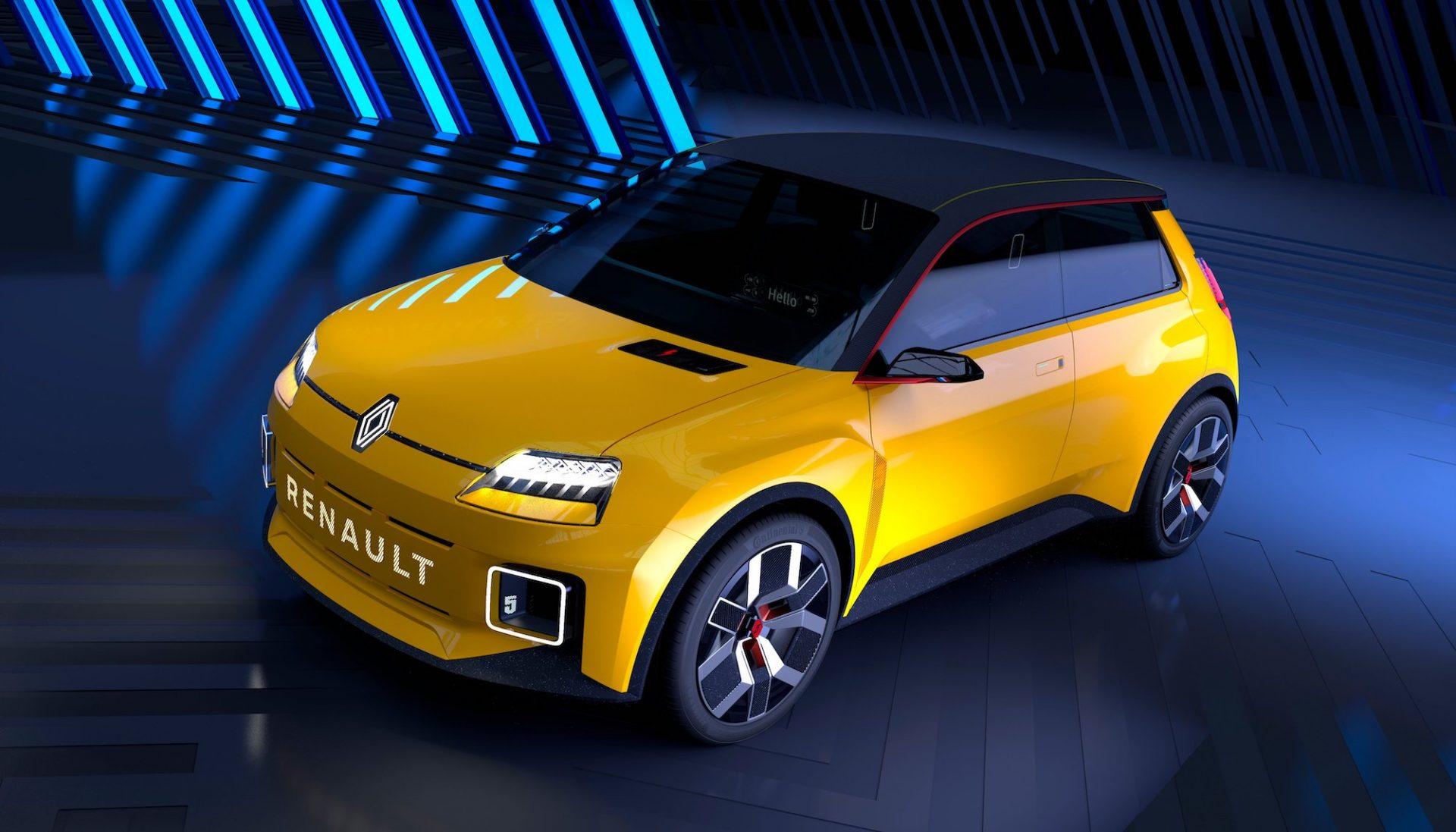 Renault annonce le retour de sa mythique R5 en version électrique