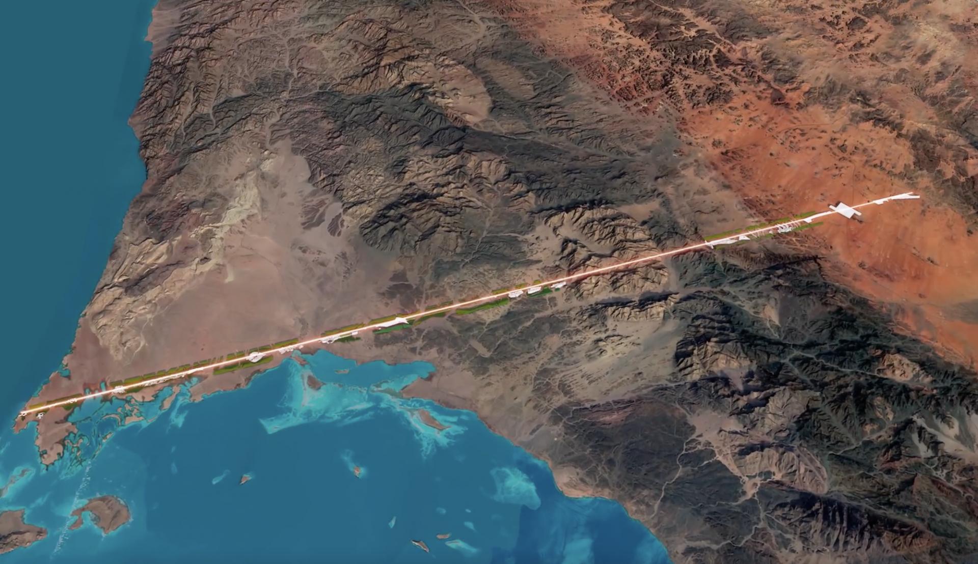 The Line : une ville révolutionnaire en ligne droite sans voiture ni pollution