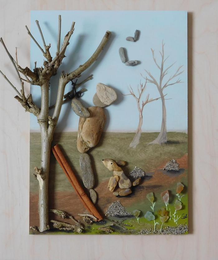 Erzsébet Szilajka crée des mises en scène poétiques avec des galets (30 photos)