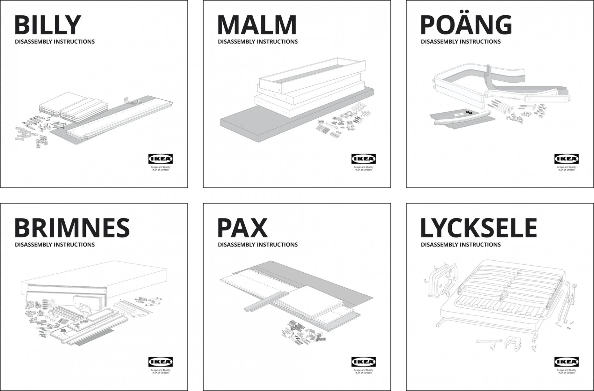IKEA offre des kits de démontage pour prolonger la durée de vie de vos meubles