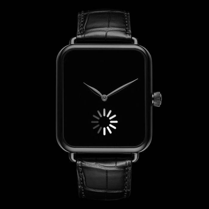 L'horloger suisse H. Moser & Cie. sort une Apple Watch 100% mécanique à 25 000 €