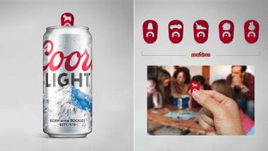 Les capsules de ces canettes de bière sont transformées en pièces de Monopoly
