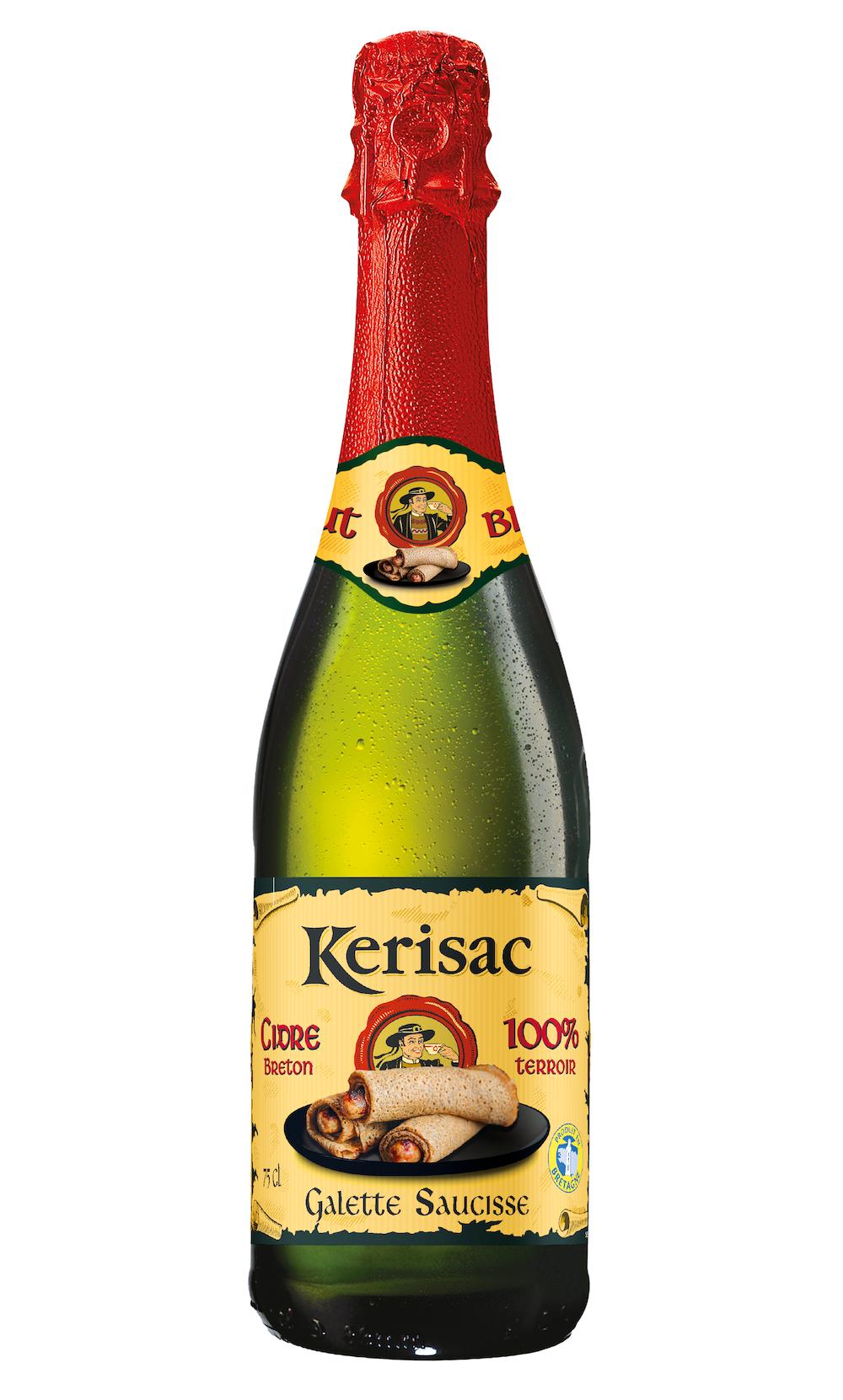 Kerisac dévoile un cidre à la galette-saucisse pour les (vrais) Bretons