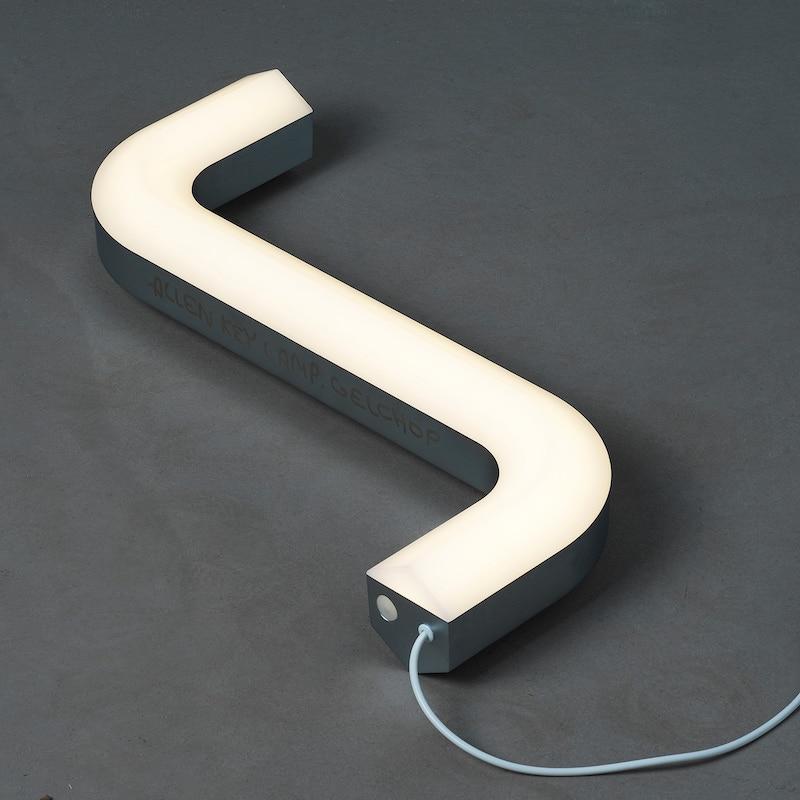 IKEA transforme la clé Allen (pour monter les meubles) en lampe créative