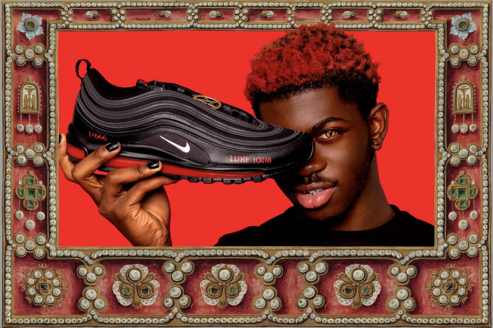 Des Nike sataniques avec une vraie goutte de sang font scandale aux États-Unis