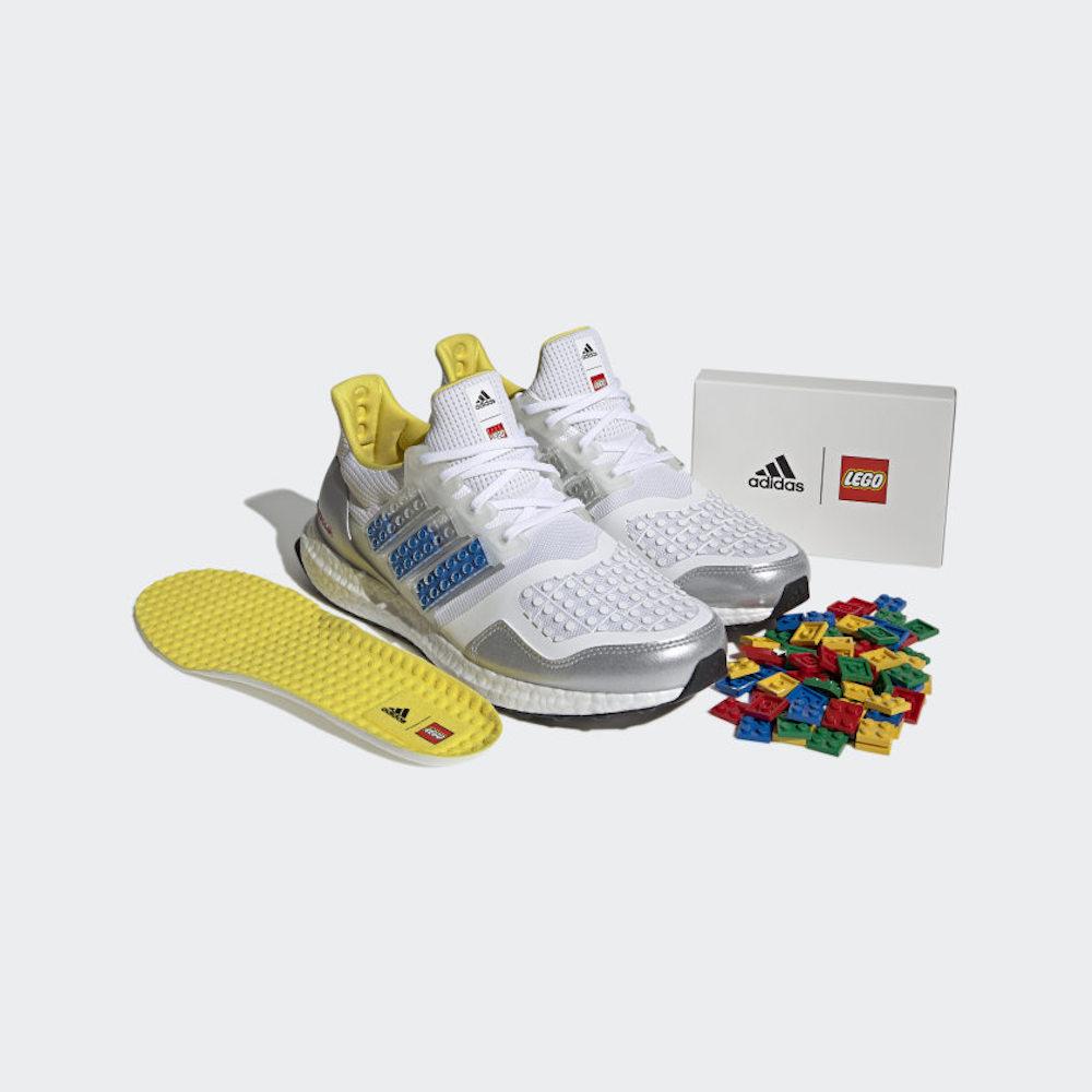 LEGO et Adidas dévoilent des sneakers à personnaliser avec des briques