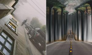 Les photomontages surréalistes de cet artiste vont vous donner mal à la tête