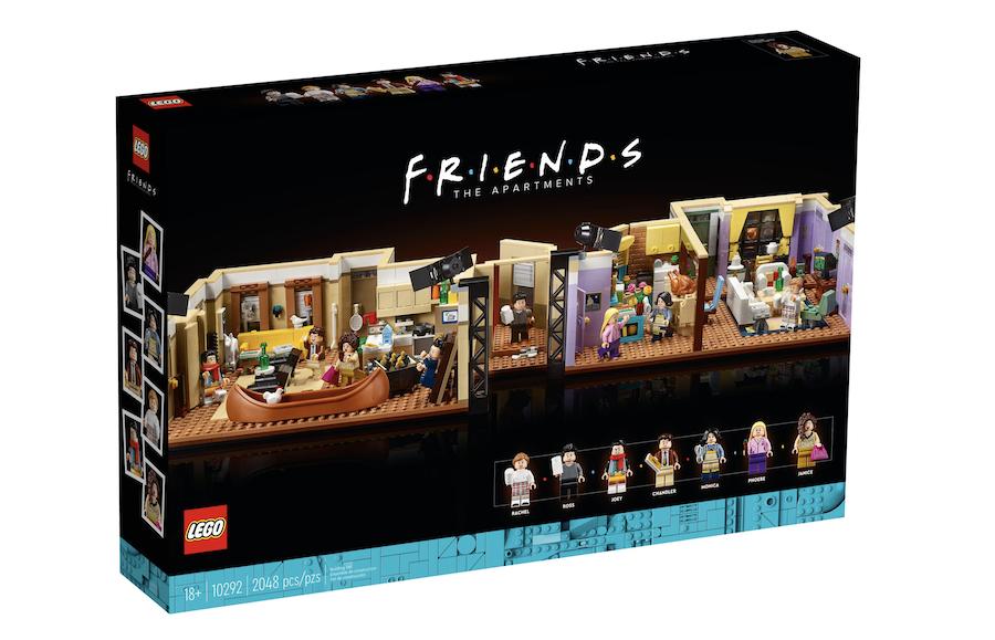 LEGO dévoile un set de 2048 pièces pour construire l'appartement de Friends