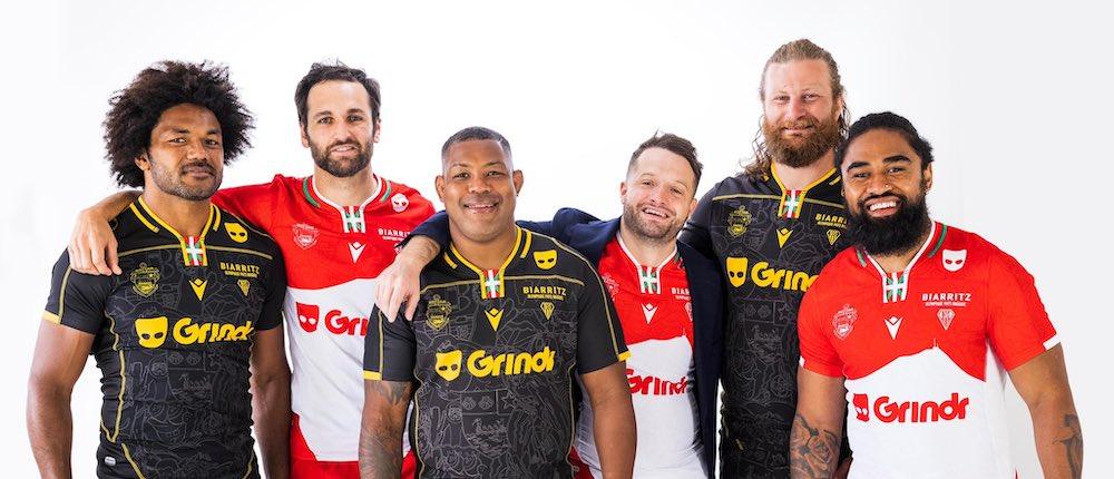 L'appli de rencontres gay Grindr devient sponsor maillot du Biarritz Olympique