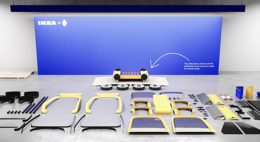 Renault Höga : la première voiture à monter soi-même comme un meuble IKEA ! (vidéo sur Bidfoly.com) Par Maxime Delmas Hoga-ikea-renault-voiture-4