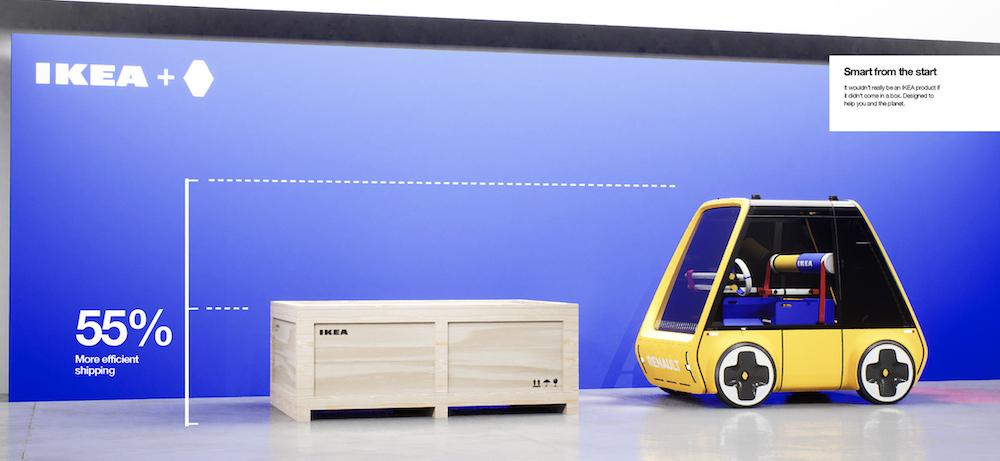 Renault Höga : la première voiture à monter soi-même comme un meuble IKEA ! (vidéo sur Bidfoly.com) Par Maxime Delmas Hoga-ikea-renault-voiture-5