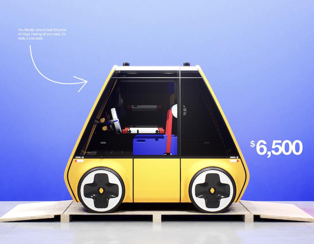 Renault Höga : la première voiture à monter soi-même comme un meuble IKEA ! (vidéo sur Bidfoly.com) Par Maxime Delmas Hoga-ikea-renault-voiture-7