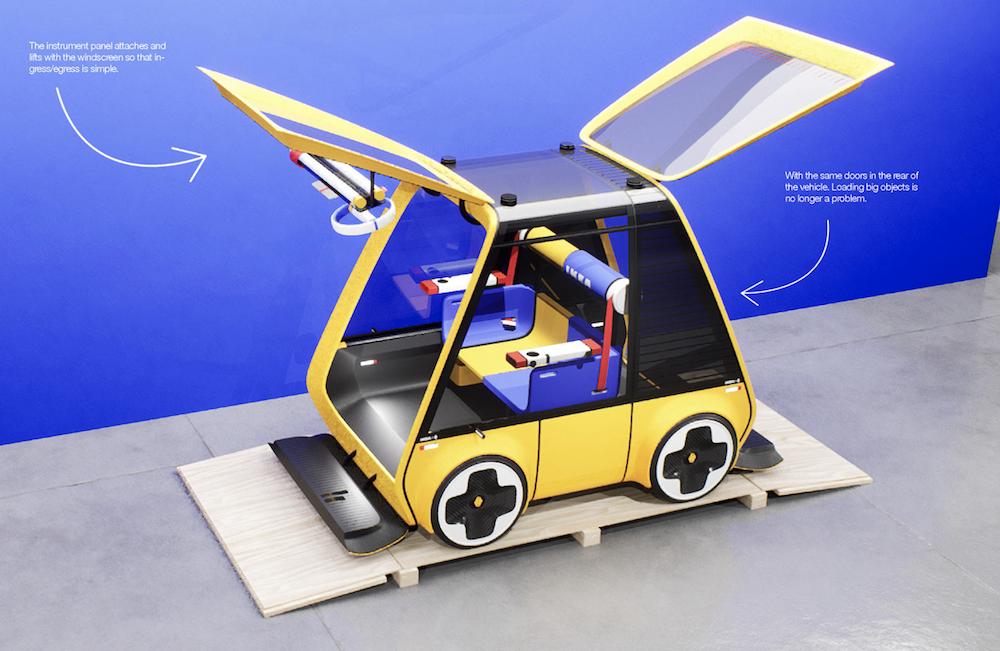 Renault Höga : la première voiture à monter soi-même comme un meuble IKEA ! (vidéo sur Bidfoly.com) Par Maxime Delmas Hoga-ikea-renault-voiture-8