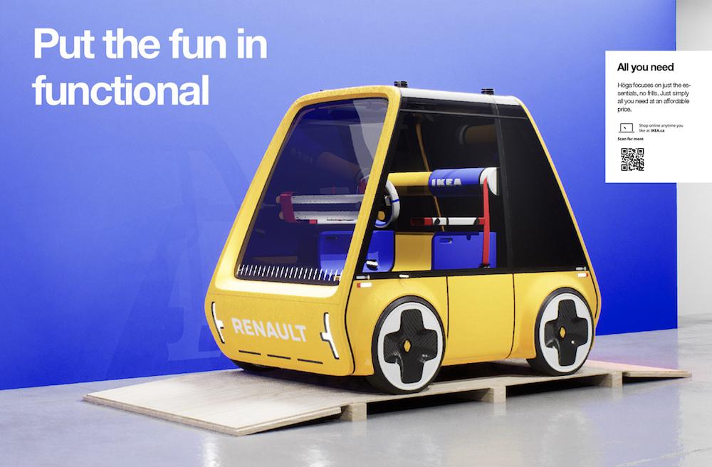 Renault Höga : la première voiture à monter soi-même comme un meuble IKEA ! (vidéo sur Bidfoly.com) Par Maxime Delmas Hoga-ikea-renault-voiture-9