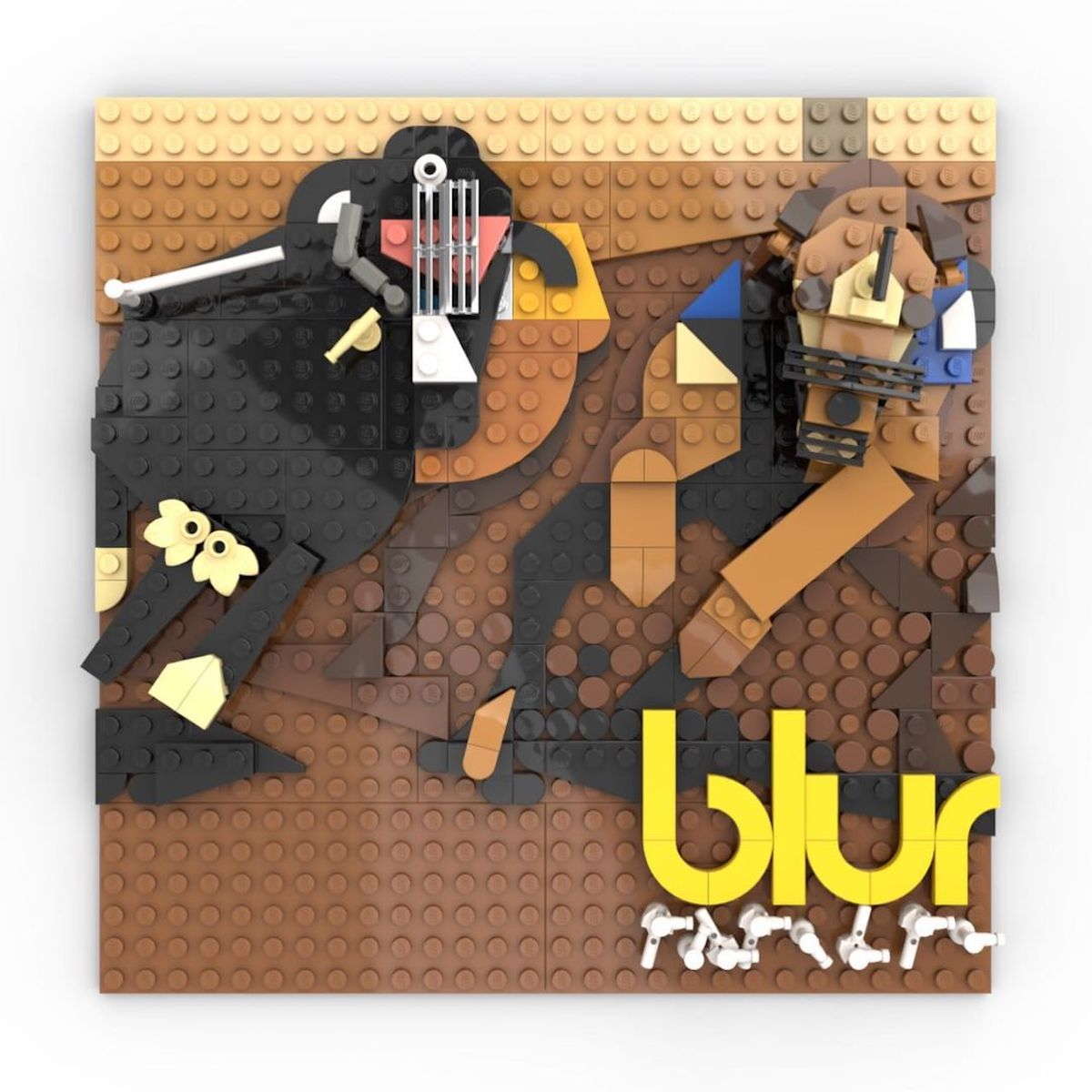 Les albums LEGO d'Adnan Lotia