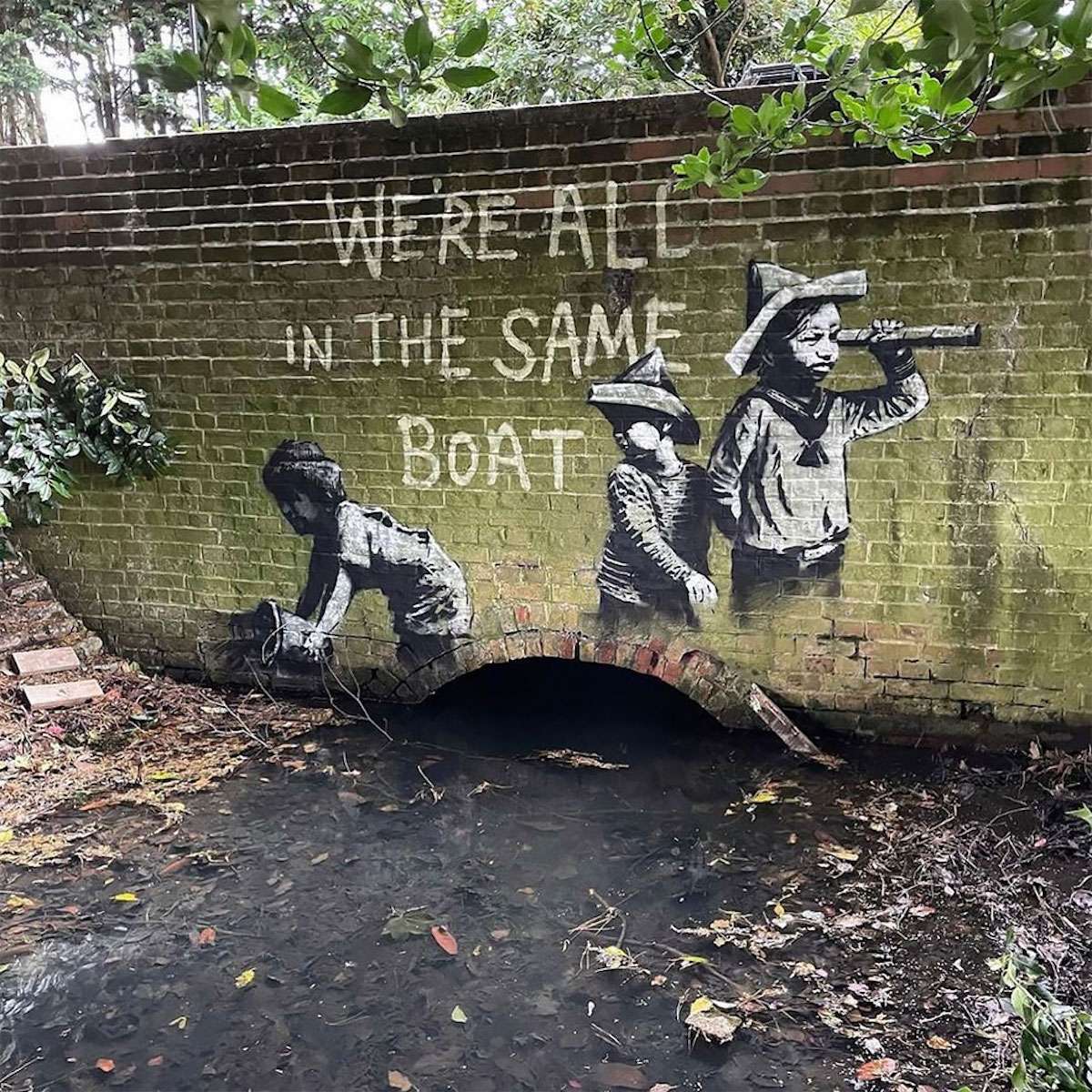 Les nouveaux street art de Banksy