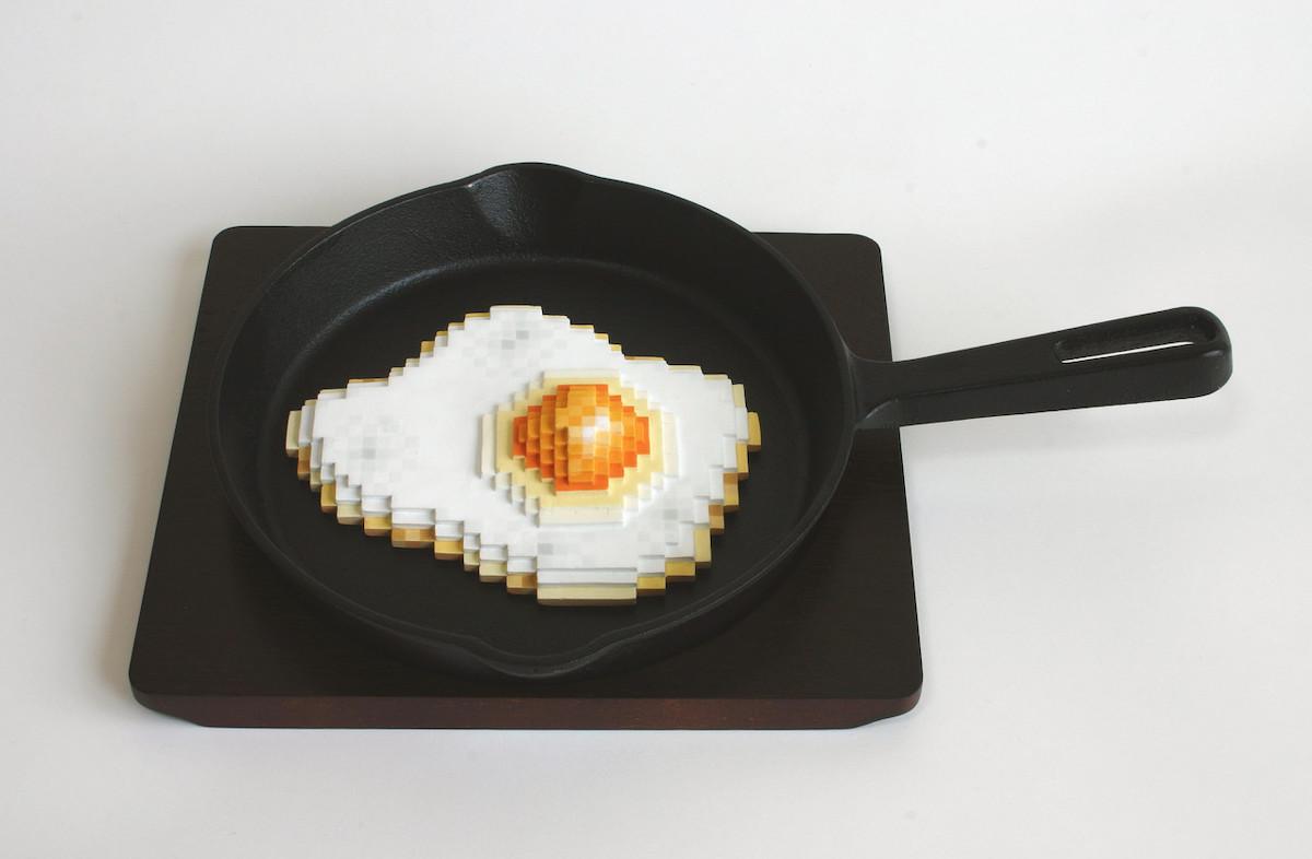 Les céramiques pixellisées de Masuda brouillent la frontière entre réel et virtuel