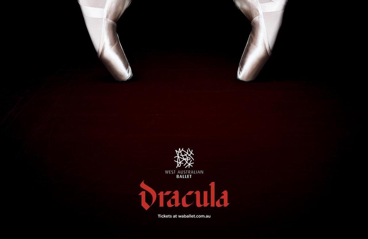 Un passage piéton détourné avec créativité pour la promo d'un spectacle sur Dracula ! (vidéo) Par Justine Mellado Dracula-Ballet