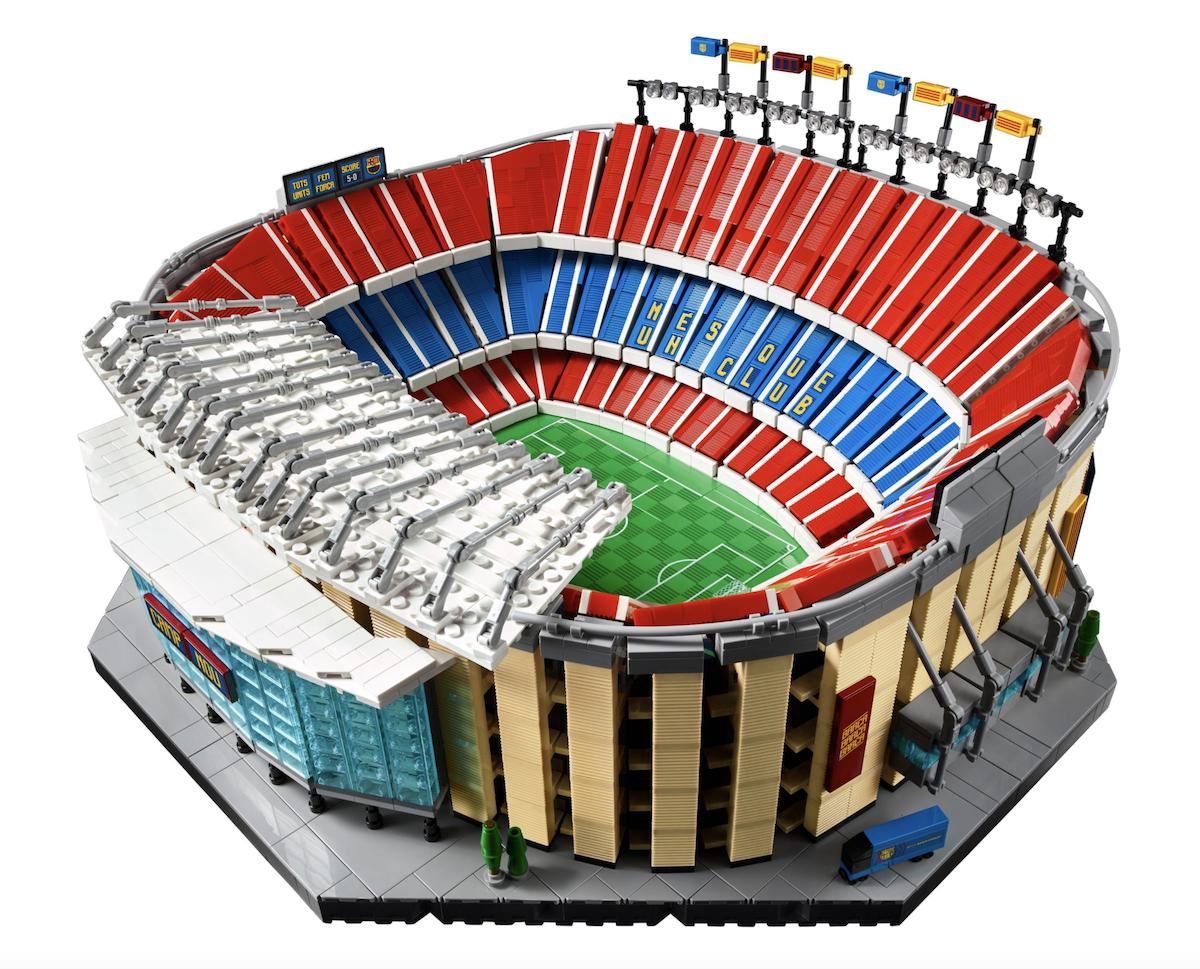 Le Camp Nou du FC Barcelone par LEGO