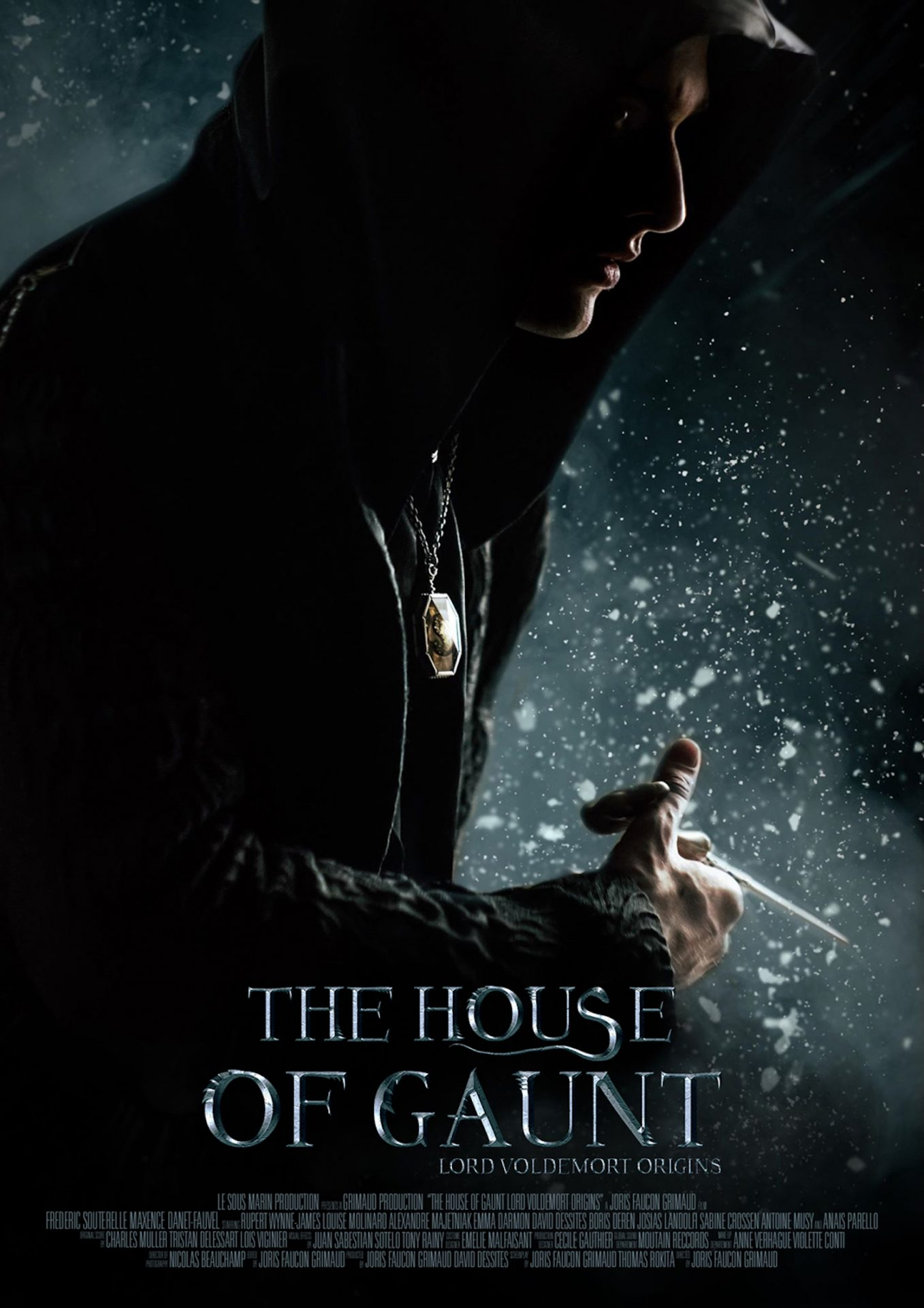 """Affiche officielle du film """"The House of Gaunt"""""""