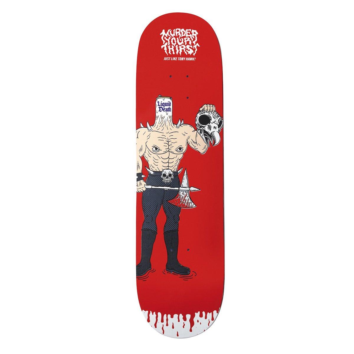 Tony Hawk commercial un skate qui contient propre sang en édition limité