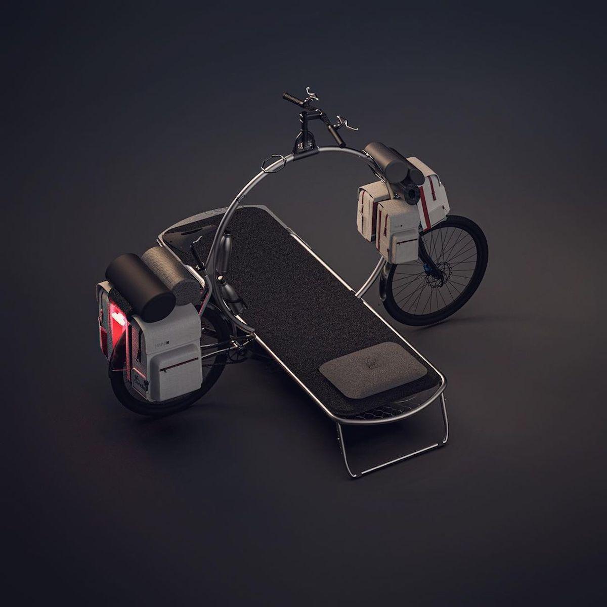 Cercle The World : le vélo circulaire conçu pour le camping