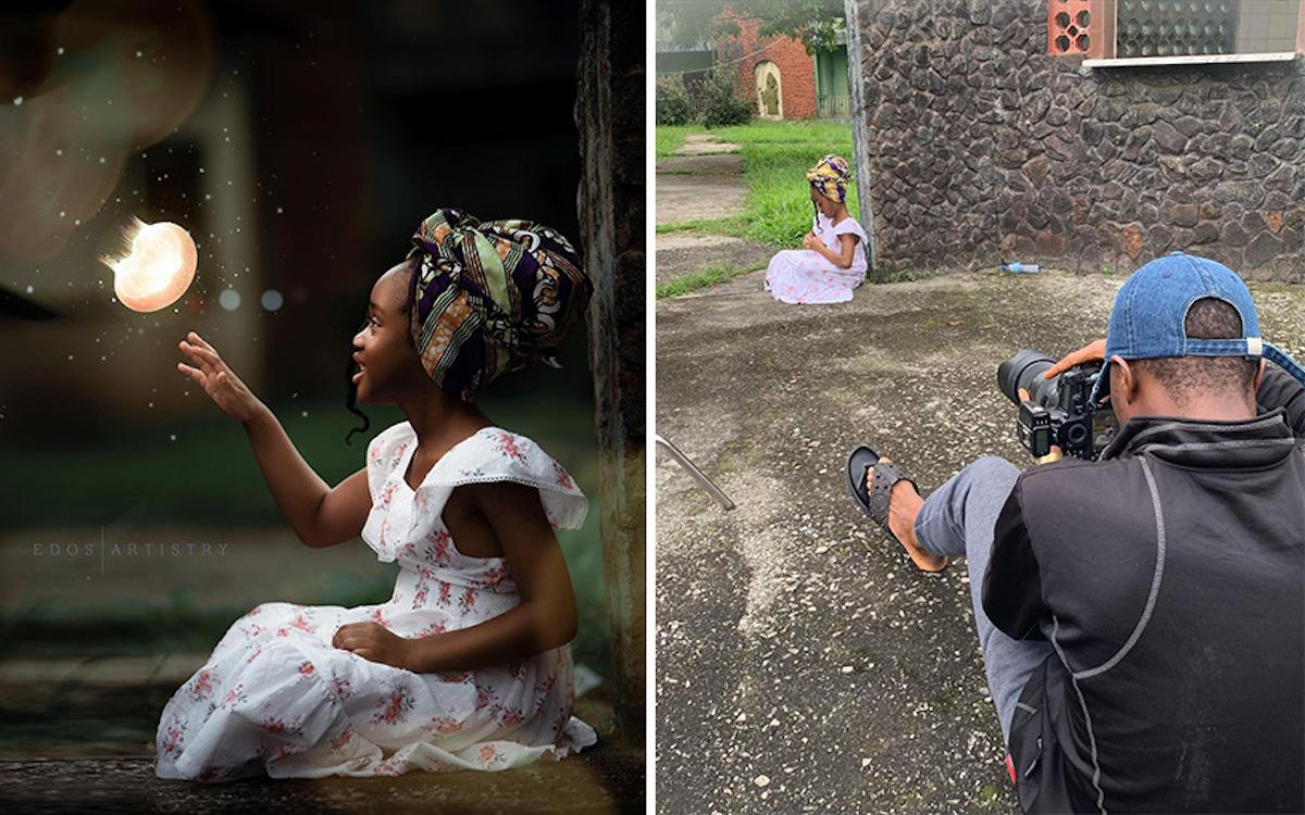 Ce photographe nigérian dévoile les coulisses de ses shootings créatifs ! (vidéo sur Bidfoly.com) Par Justine Mellado Ibor-edosa-victor-photographe-coulisses-12