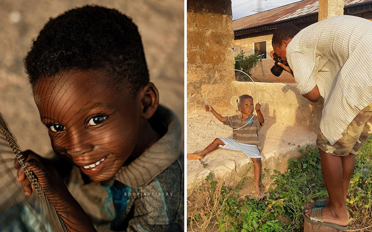 Ce photographe nigérian dévoile les coulisses de ses shootings créatifs ! (vidéo sur Bidfoly.com) Par Justine Mellado Ibor-edosa-victor-photographe-coulisses-14