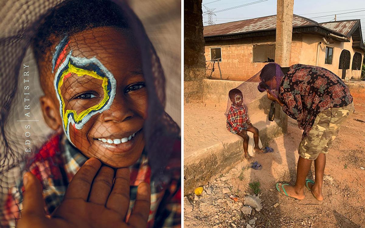 Ce photographe nigérian dévoile les coulisses de ses shootings créatifs ! (vidéo sur Bidfoly.com) Par Justine Mellado Ibor-edosa-victor-photographe-coulisses-21