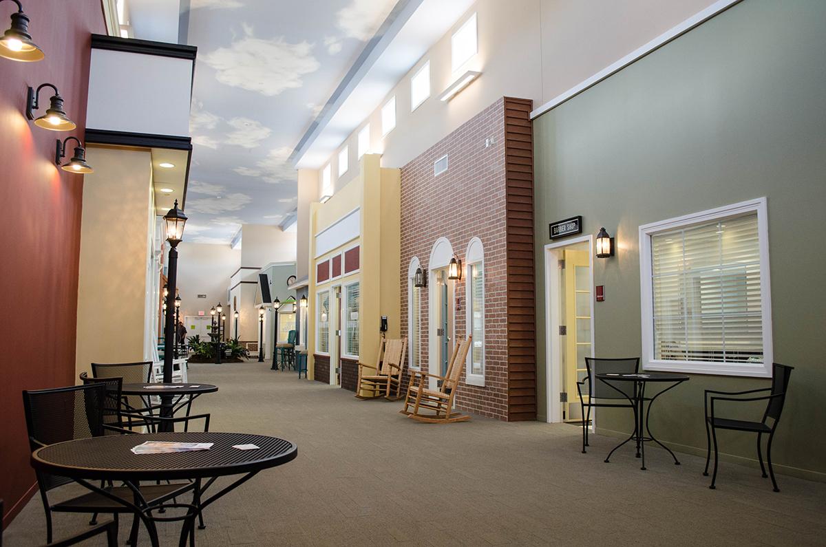 Lantern Of Chagrin Valley : cette maison de retraite personnalise les chambres en petites maisons de quartier
