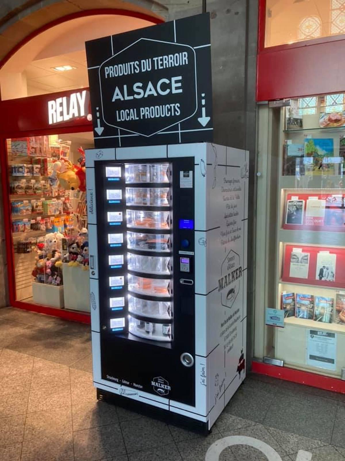 À Strasbourg : le premier distributeur de choucroute